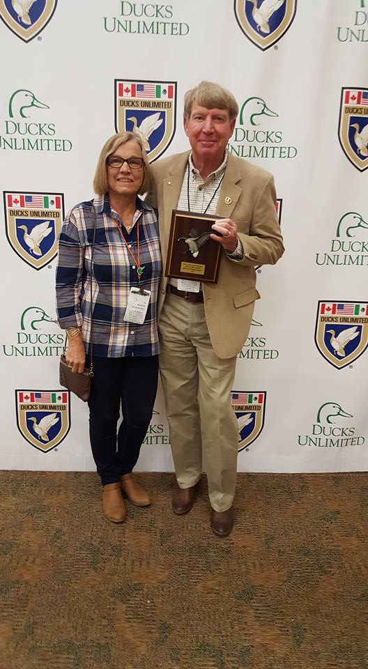 Rick Warhurst honored by SD Ducks Unlimited